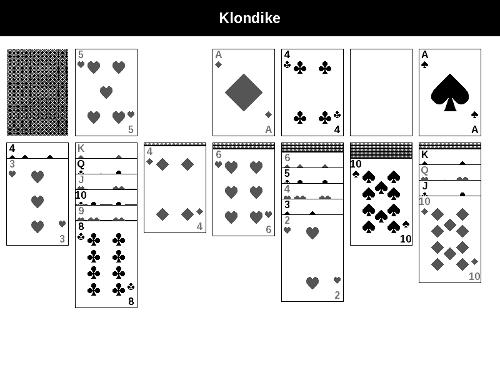 Solitaire, zusätzlich gibt es auch noch die Spiele Sudoku oder Snake