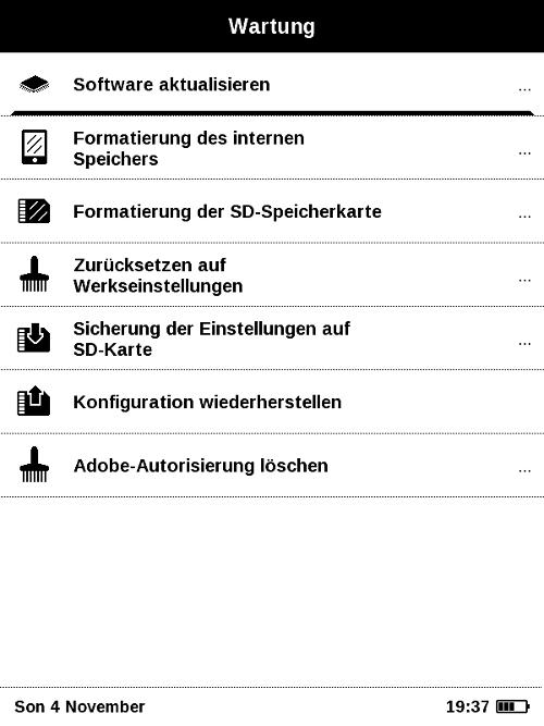 PocketBooks neues Einsteigermodell lässt sich leicht warten und auf dem neuesten Stand halten