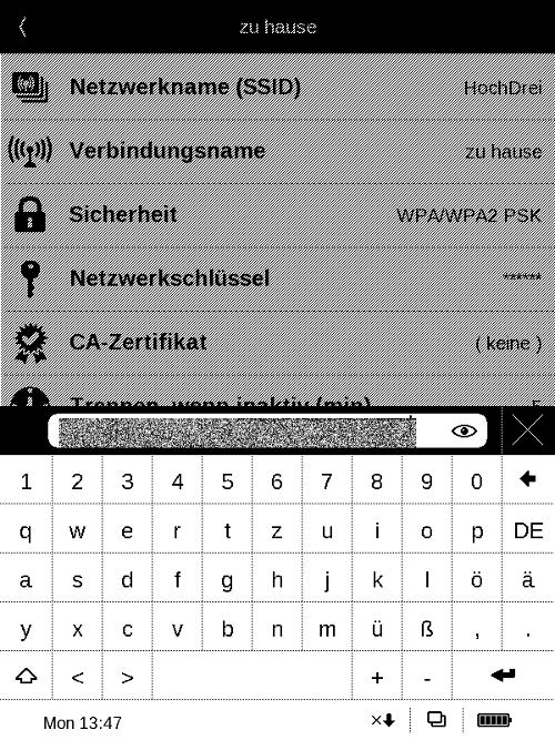 WPA-Keys werden jetzt verschlüsselt gespeichert