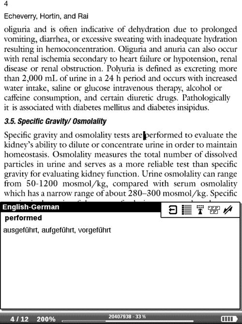 PB 611: Wörterbuch