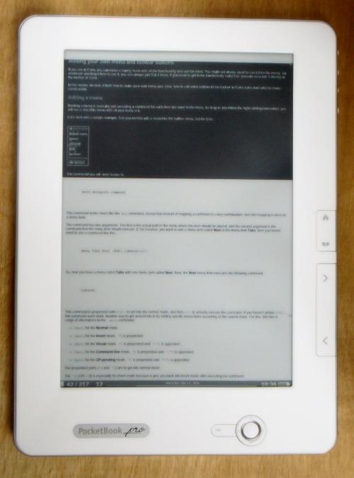 Notizen halten Interessantes im bmp-Format fest