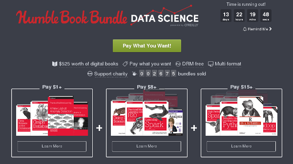 Humble Book Bundle: Data Science presented by O'Reilly